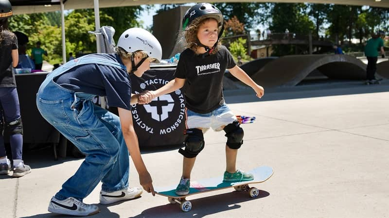 Where to learn to skateboard