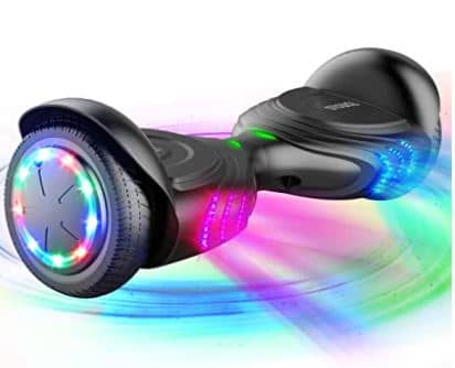 TOMOLOO Music-Rhythmed Hoverboard for Kids and Adult